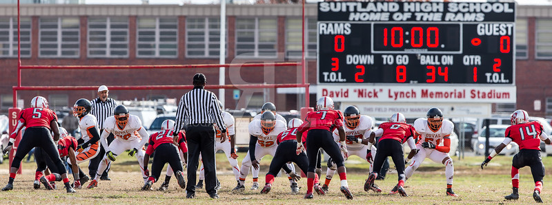4A South Regional Final DuVal vs Suitland 2013 Nov 23