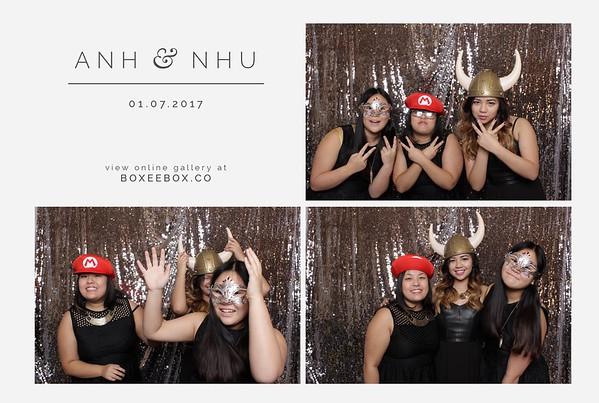 Anh & Nhu Booth Prints
