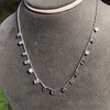 2.88ctw 18kt White Gold Scatter Necklace 13