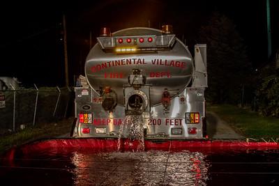 10-17-17 Mutual-Aid Tanker Drill, Roa Hook Road