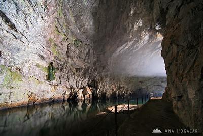 Planinska jama cave, Feb 6, 2010