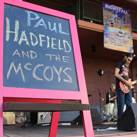 Paul Hadfield & the McCoys Gallery