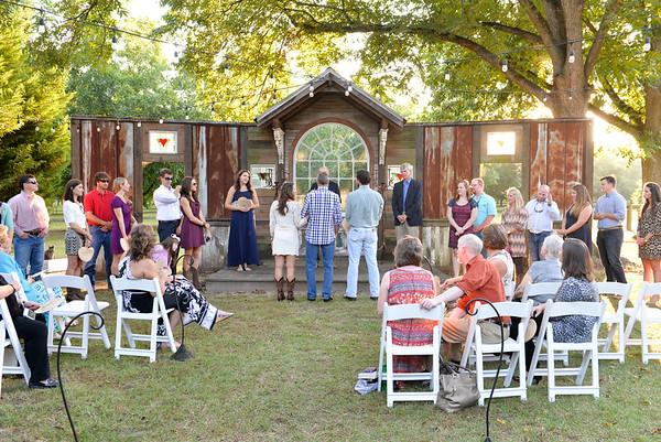Tinsley Wedding Rehersal