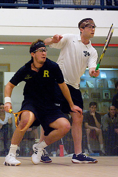 2010-02-20 Chris Plimpton (Yale) and Juan Pablo Gaviria (Rochester)