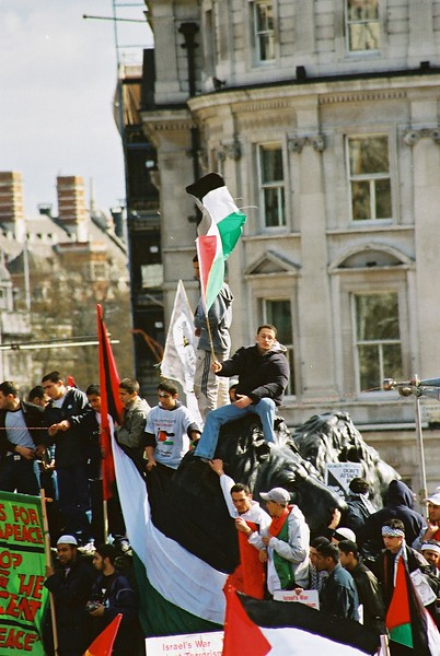 Palestine Solidarity Demonstration - May 2002