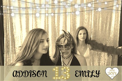 Addison and Emily's 13th Birthday Party