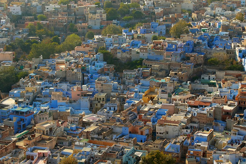 The wonderfully picturesque neighborhood of Navchokiya - Jodhpur