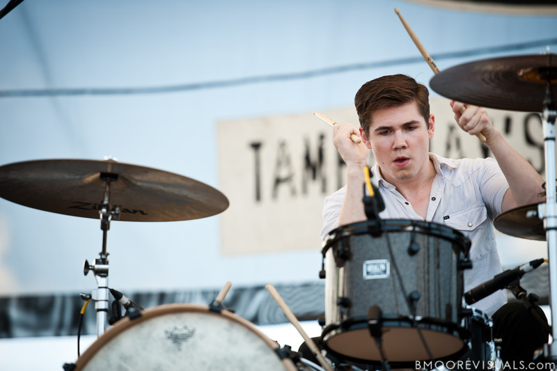 Reed Murray of Marksmen performs on May 28, 2011 during 97X Backyard BBQ at Vinoy Park in St. Petersburg, Florida