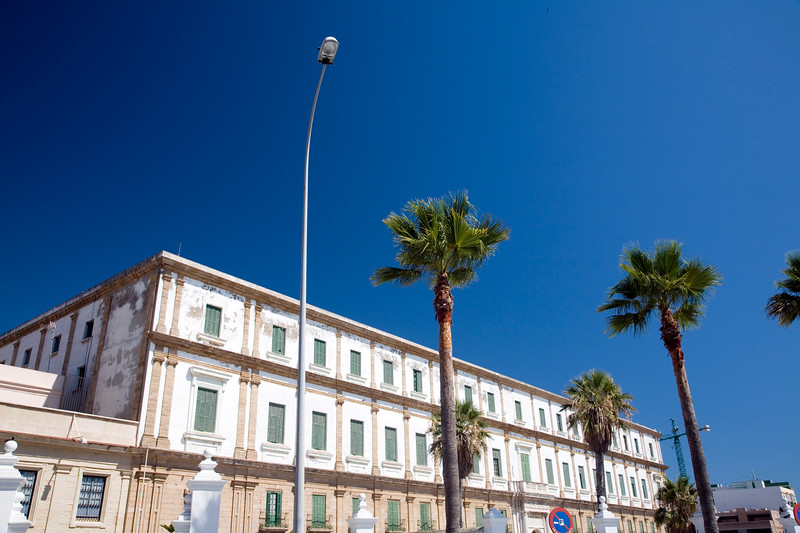 Colorful image of Cadiz University, Spain