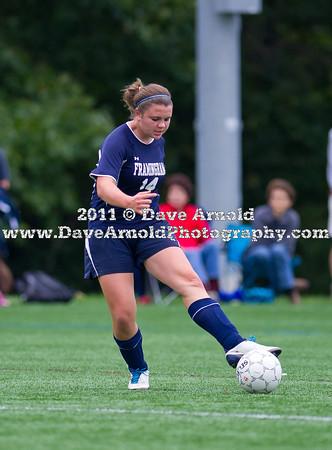 9/15/2011 - Girls Varsity Soccer - Framingham vs Needham