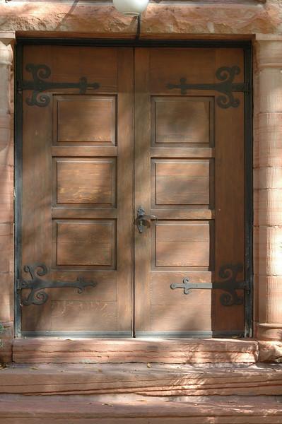 The old church door