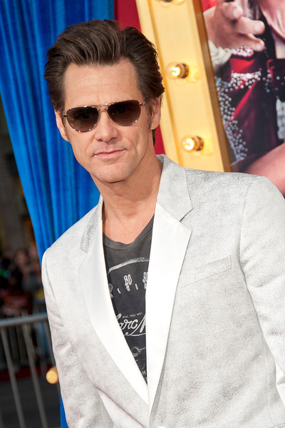 HOLLYWOOD, CA - MARCH 11: Actor Jim Carrey attends the premiere of Warner Bros. Pictures' 'The Incredible Burt Wonderstone' at TCL Chinese Theatre on Monday, March 11, 2013 in Hollywood, California. (Photo by Tom Sorensen/Moovieboy Pictures)