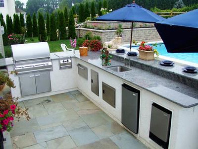 DIY Outdoor Kitchen Design Plans