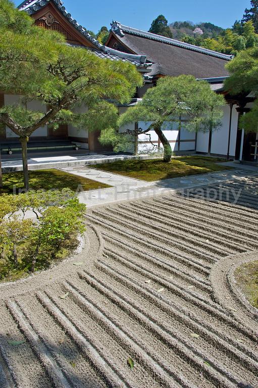 Ginkakuji, Silver Pavilion, Sand Garden
