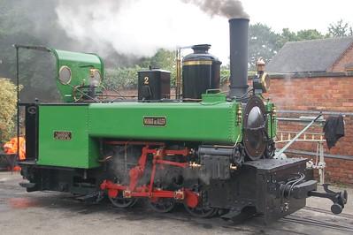 Statfold Barn Railway 2018