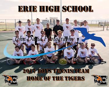 2017 EHS Boys Tennis Team Pics