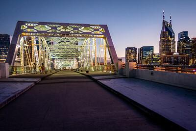 Nashville's John Seigenthaler Pedestrian Bridge