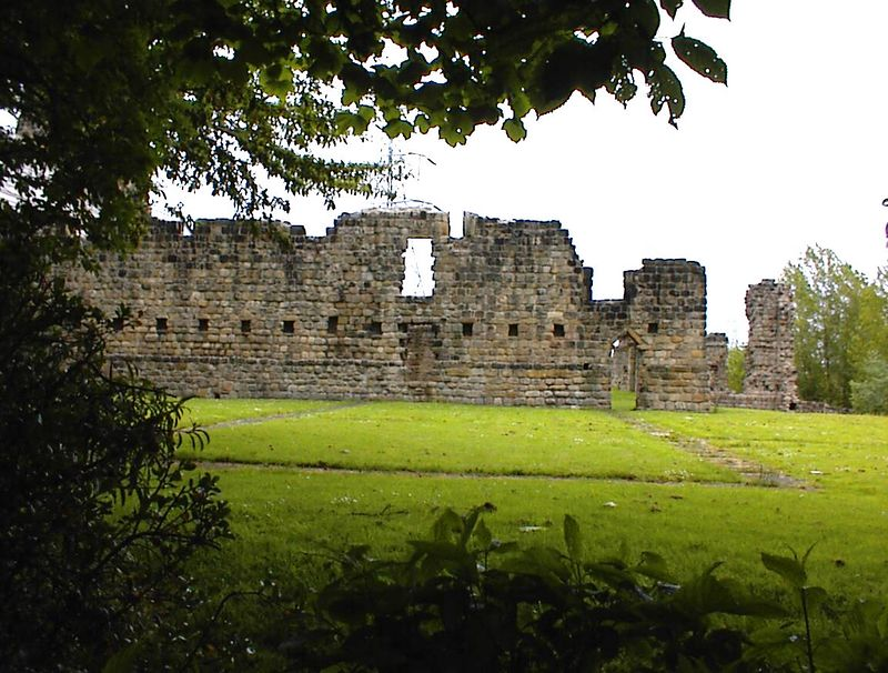 Ruins of the medieval Monastery of St. Paul, Jarrow