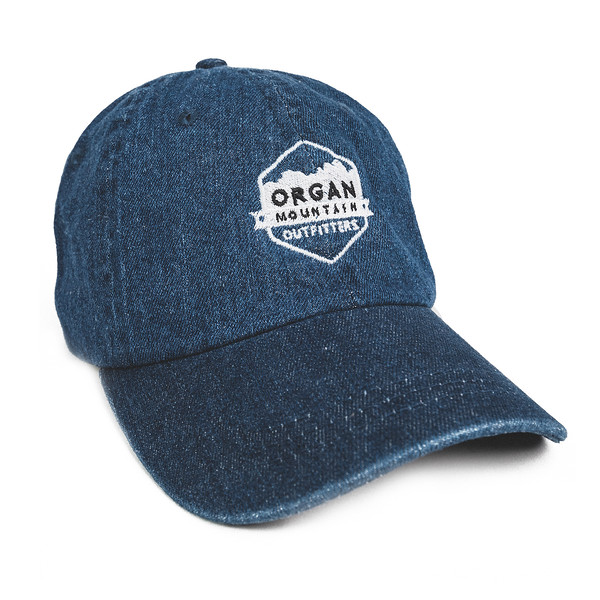 Organ Mountain Outfitters - Outdoor Apparel - Hat - OMO Denim Dad Cap - Navy.jpg