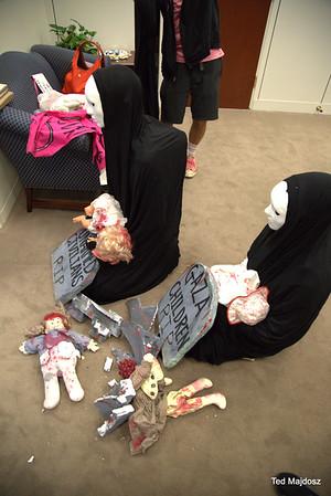 Sit-In In Senator Elizabeth Warren's Office 9/8/14