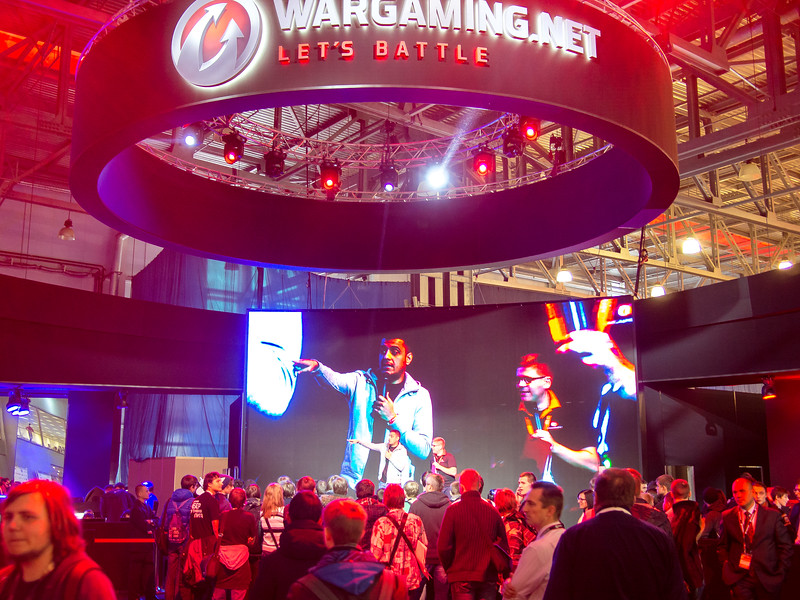 Wargaming at Igromir 2013