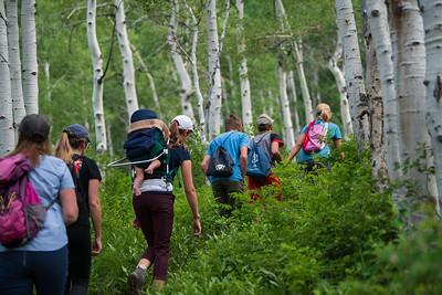 2019-07-08 Big Cottonwood Canyon - Willow Lake & Desolation Lake Hikes