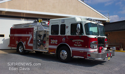 02-24-2013, Williamstown Fire Co. Sta. 29-1 (Gloucester County) , New Engines 29-12 and 29-13