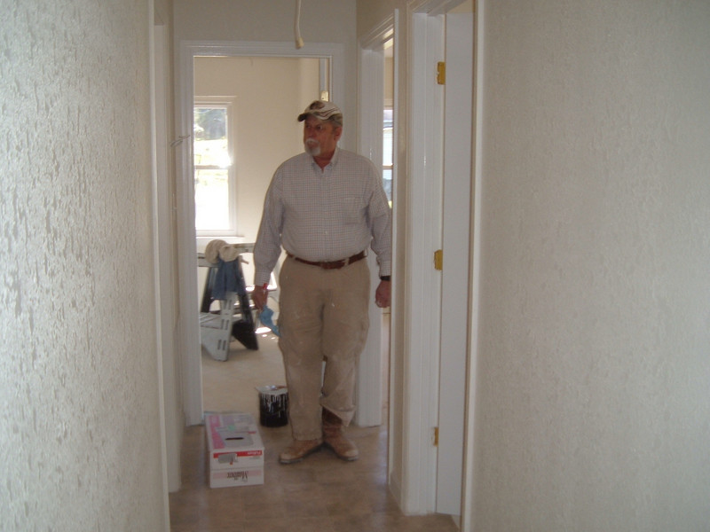 10 03  Mr. Gerald is a contractor who greatly discounts his work as a contribution to the Fuller Center.   kr