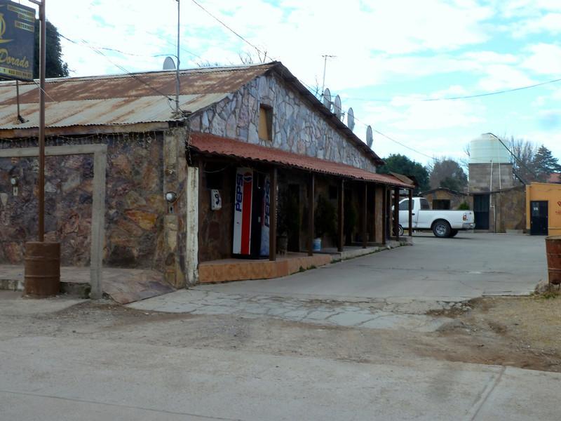 Hotel El Dorado in Yecora.