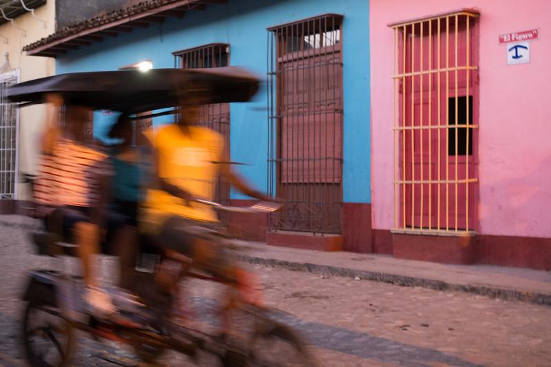 Street scene, Trinidad