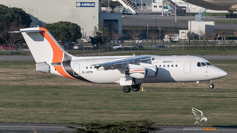 Avro RJ85 / Jota Aviation / G-JOTR