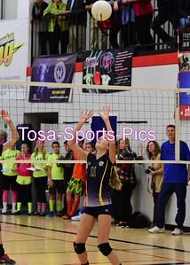 2015 Seton Volleyball
