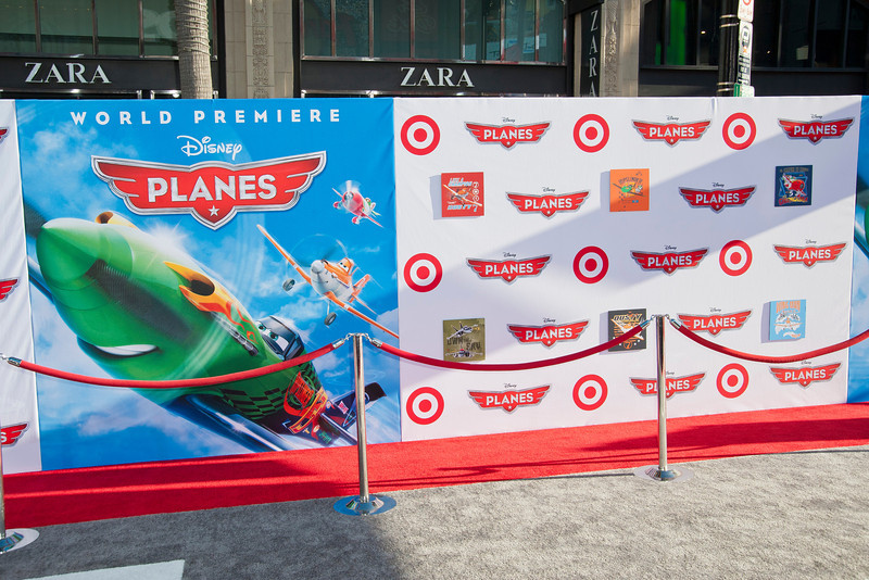 HOLLYWOOD, CA - AUGUST 05: Atmosphere at the Los Angeles premiere of 'Planes' at the El Capitan Theatre on Monday August 5, 2013 in Hollywood, California. (Photo by Tom Sorensen/Moovieboy Pictures)