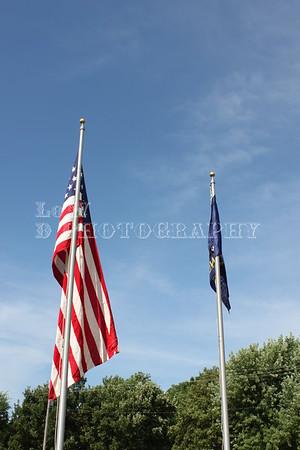 Cassoday Flag Dedication