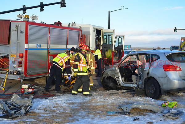 Motor Vehicle Accident-Constitution & Marksheffel-Falcon & Cimarron Hills Fire