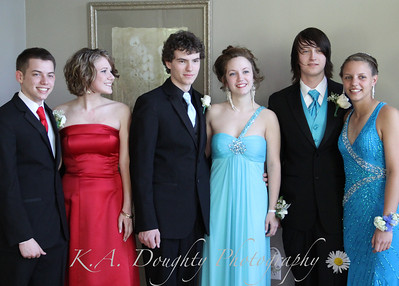 LRHS Prom 2012 J & S, S & E, Group