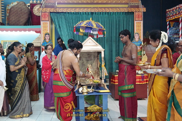 Sri Ganesha Durga Temple  Chariot Festival June 28, 2014