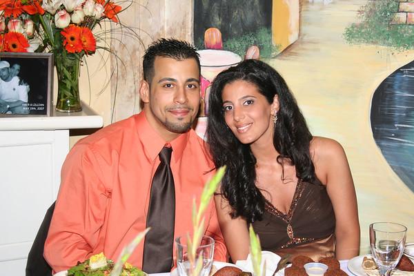 Amer Hassan & Lillian Sayegh's Engagement May 19, 2007