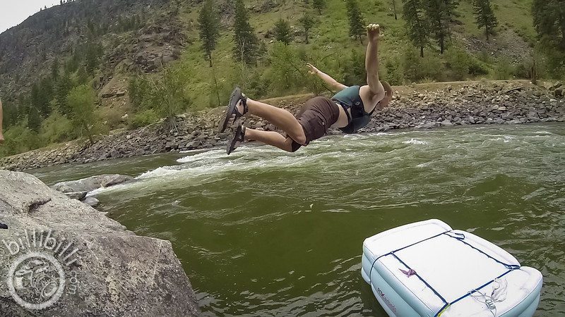 Fox Airbeds - Whitewater Rafting on the Salmon River - billibilli Photo Video - Max Gurel
