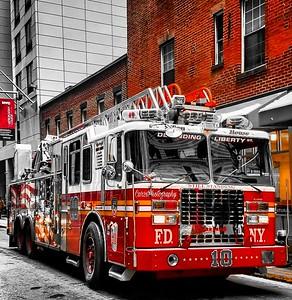 """Apparauts Shoot - FDNY """"TEN HOUSE"""", Manhattan, NY - 1/10/17"""