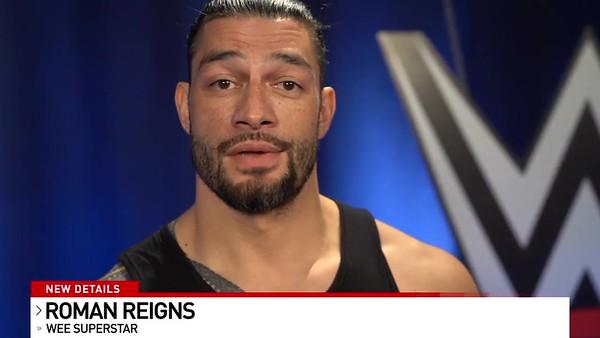 Roman Reigns - Screencaps Video Message for Pensecola