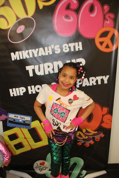 Mykiyah's 80's Theme Party