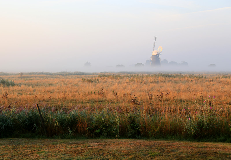 Mutton's Mill on a misty Autumn Morning