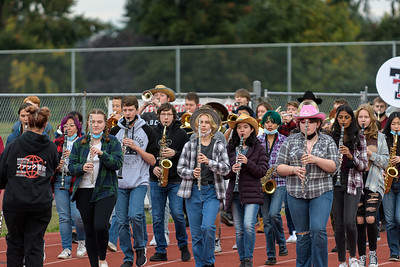 Tualatin HS Marching Band Practice