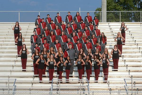 BHS Band Portraits 2014