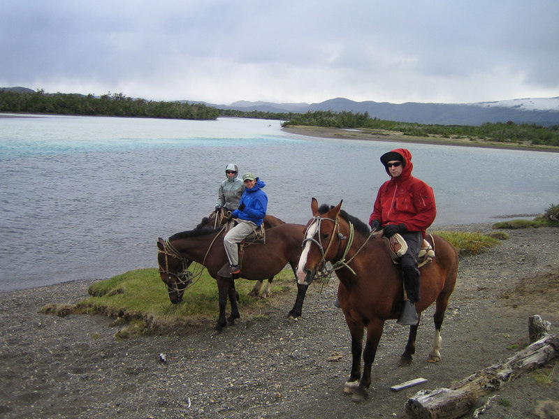 The traditional way of exploring Patagonia