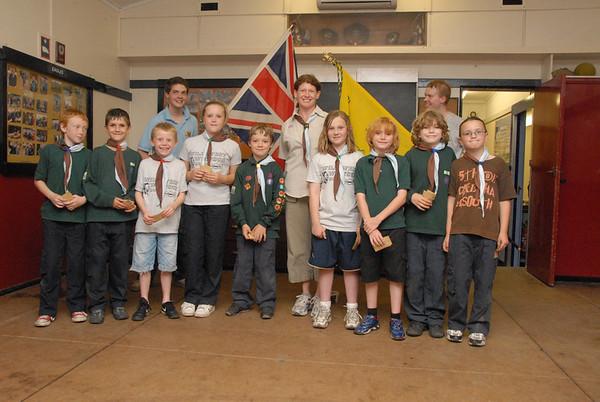 Rikki Chief Scouts Silver Award Presentation