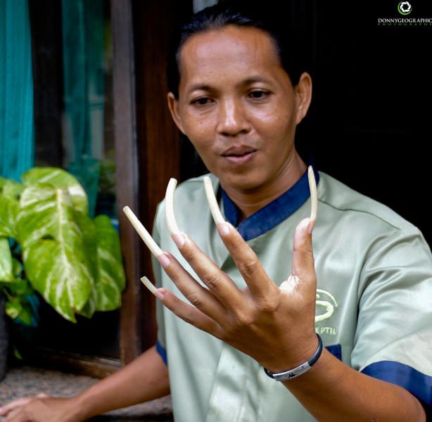 Nails , nails and more nails in Bali
