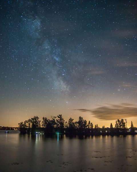 Kawartha Milky Way