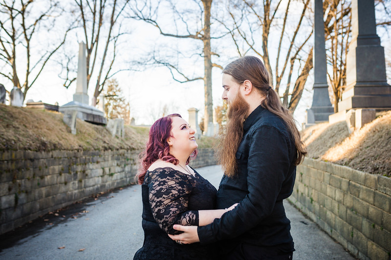 KELLSIE AND TYLER - LAUREL HILL CEMETERY - ENGAGEMENT PHOTOGRAPHY-3.jpg
